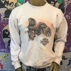 1992 Vintage Eagle 🦅 Harley-Davidson Sweatshirt L